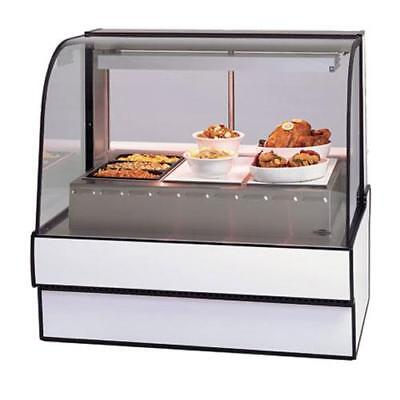"""Federal - CG5048HD - Curved Glass 50"""" Hot Deli Case"""