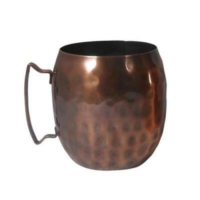 14 Oz Hammered Copper Moscow Mule Mugs - Case of 12 - World Tableware MM100