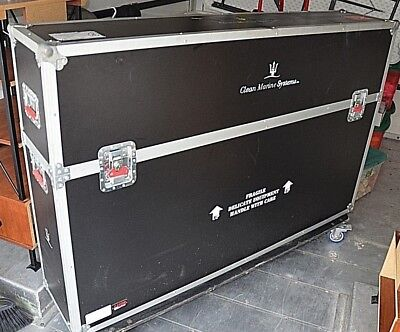 GATOR CASE Trade Show Shipping container Flat Screen TV Equipment medical wheel