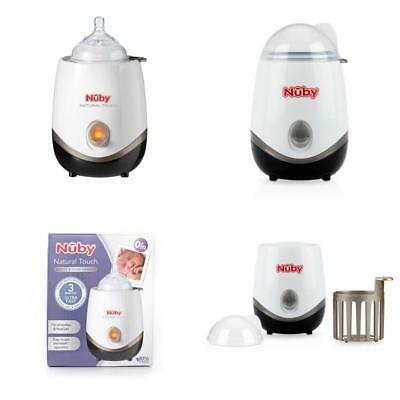 Nuby Natural Touch Bottle & Food Warmer 1 2 3 6 12 Packs