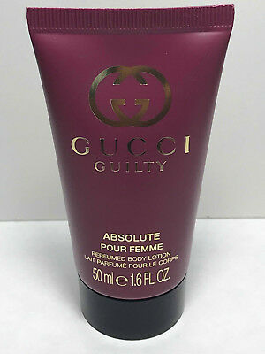 d7411504c5 GUCCI GUILTY ABSOLUTE POUR FEMME Perfumed Body Lotion 1.6oz / 50ml NEW