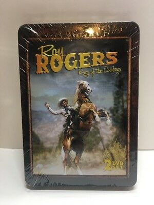 ROY ROGERS KING OF THE COWBOYS New 2 DVD Set~Sealed