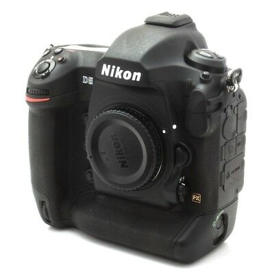 Nikon D5 Pro Digital SLR Camera Dual XQD Slot DSLR Canada ONLY 90 CLICKS!