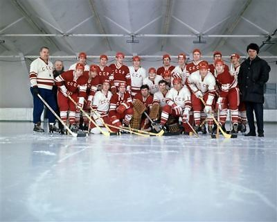 Team USSR Russia 1972 Summit Series  8x10 Photo
