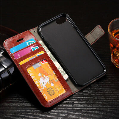 Card Slot Wallet Flip Leather Case for iPhone X 6 s 7 8 Plus 5 SE IP Phone Cover