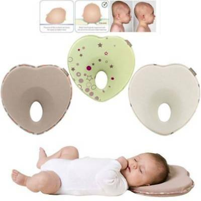 Infant Head Shaping Memory Foam Pillow Positioner Prevent Flat Head Anti Roll UK