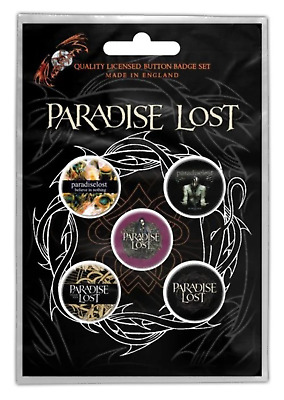 Paradise Lost - 5 x 2.5cm Button Set - Crown Of Thorns