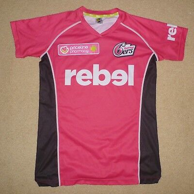 New Unworn Size 10 Womens SYDNEY SIXERS SYDNEY 6ERS Training Top WBBL