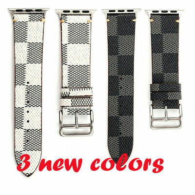 Genuine Leather Watch Strap Watch Band for iWatch Apple Watch 3 2 1 42mm 38mm