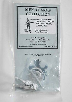 New Hope Design MA0896 Musketeer Army of Sweden 30yrs War 1632-54mm