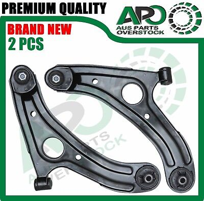 2PCS Front Lower Left Right Control Arms Pair for HYUNDAI Getz BU TB 5/2002 -On