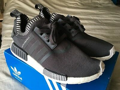 huge selection of 9923d a7872 ADIDAS NMD R1 Primeknit Japan Grey Boost S81849 Size 11 PREOWNED