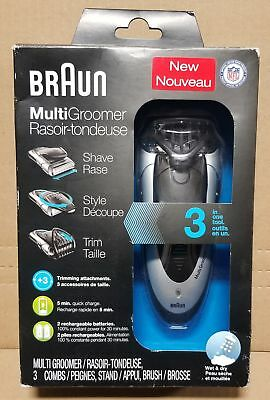 Braun MG5090 Men's Electric Shaver / Styler / Trimmer, 3-in-1 Hair Clipper