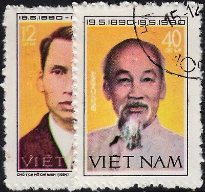 Vietnam 1980 90th Birthday of Ho Chi Minh Set CTO