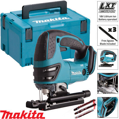 Makita DJV180Z 18V Cordless Li-ion Jigsaw Body With 821551-8 Makpac Case Type 3