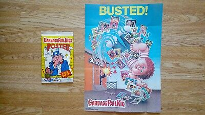 Garbage Pail Kids Poster #18 'Busted!' (1986) - Topps - Brand New!