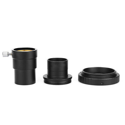 "1.25"" Extension Tube+M42 T-Ring Adapter+Canon Camera Mount Adapter for Astronomy"