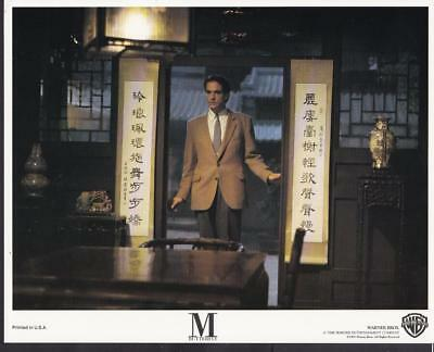 Jeremy Irons closeup  in M. Butterfly 1993 vintage movie photo 34122