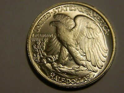 Walking Liberty Half Dollar Two Face Coin  --- Lot #1191