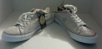 Converse One Star Women's silver dx ox size 9