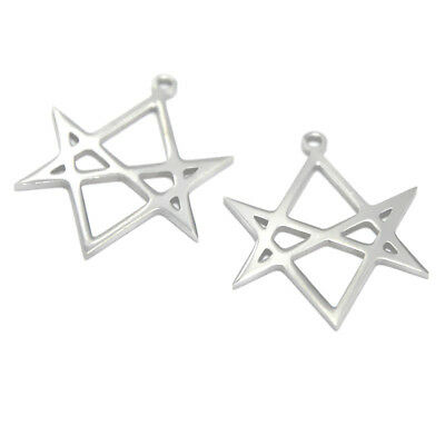 5pcs//lot Midas Star charm Reiki Money Amulet Wealth Talisman pendant 24x20mm