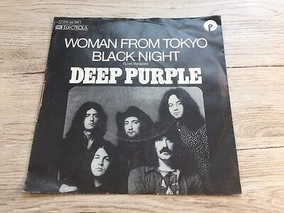 7 INCH Deep Purple ‎– Woman From Tokyo / Black Night (Live Version) 1973