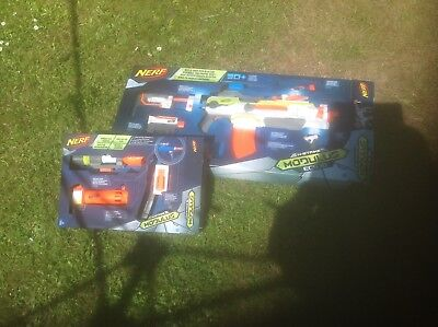 Nerf Gun Modulus With Attachments plus long range upgrade kit