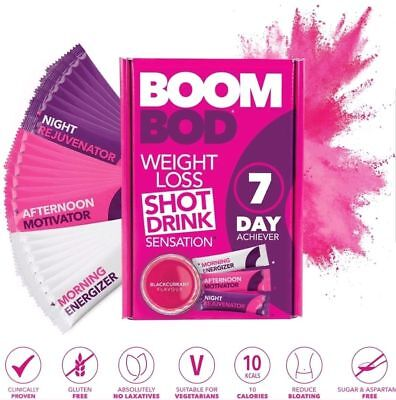 BoomBod 7 Day Achiever - Weight Loss // SAME DAY DISPATCH // FAST&FREE