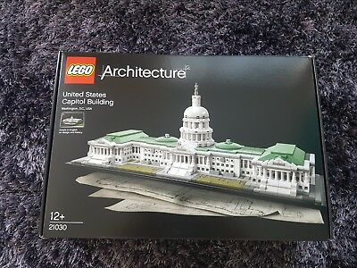 LEGO SET 21030 Architecture United States Capitol Building New In ...