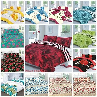 Beautiful Floral Designs Duvet Covers Quilt Covers Bedding Sets All Sizes