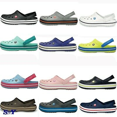 CROCS UNISEX CROCBAND CLOG Man's Women's Ultralight FOAM Sandals Men's sizing