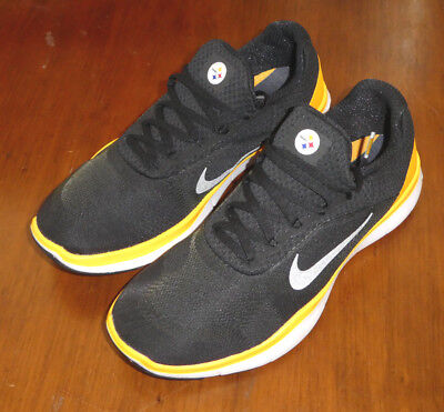 c185b6a3c76e2 Nike Free Trainer V7 NFL shoes mens new AA1948 002 Pittsburgh Steelers  trainers