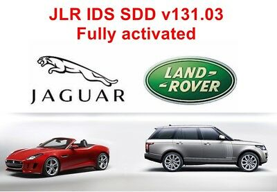 JLR IDS /SDD v131.03 Jaguar/Landrover Diagnostic Software (Downloadable Version)