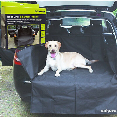 Heavy duty waterproof car boot liner cover protective cover for bumper pets dirt