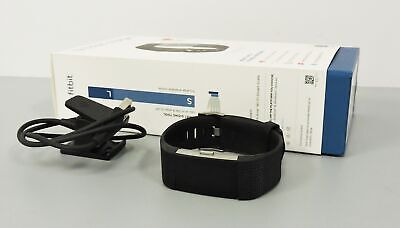 Fitbit Charge 2 Heart Rate Fitness Wristband Sleep Tracker  Large Black