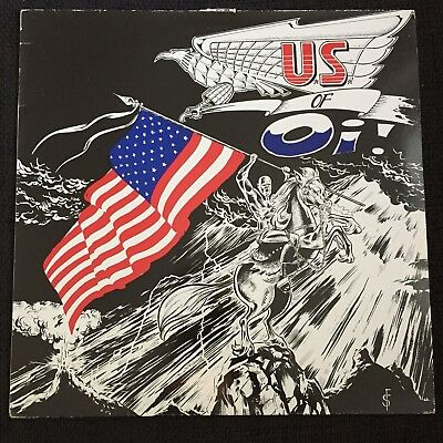 The U.S. of Oi! Sampler LP Link Records 1988 Warzone