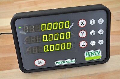 NEW Hiwin PMED-S3-3 DRO 3-Axis Digital Readout Display Linear Scale - CNC Router