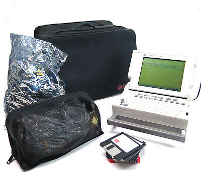 Network Probe 7100 Probe Protocol Test Set - Includes Carrying Case and Cables