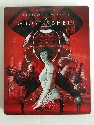 Ghost in the Shell 4K Ultra HD HDR Blu-Ray Collectible Steelbook USED