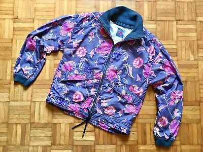 Giacca Belfe anni 80 sz M jacket flower like gucci versace vintage MADE IN ITALY