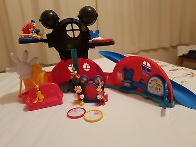 Disney Mickey Mouse Clubhouse and accessories + Extra Figures