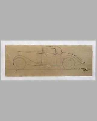 Delage factory drawing