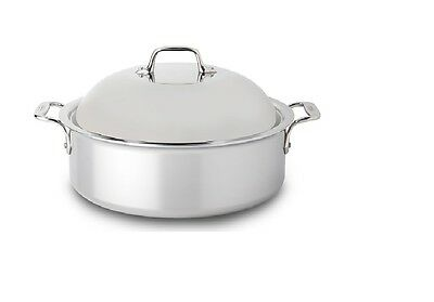 All-Clad 6-Qt 4406 SS Tri-Ply Bonded Dishwasher Safe French Roaster