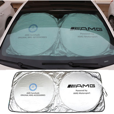 Mercedes Benz AMG Car Sunshade Sun Shield UV-proof Sunscreen Shade Motorsport