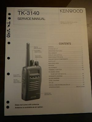 kenwood tk 3140 service manual 9 95 picclick rh picclick com kenwood tk-280 user manual kenwood tk-280 user manual