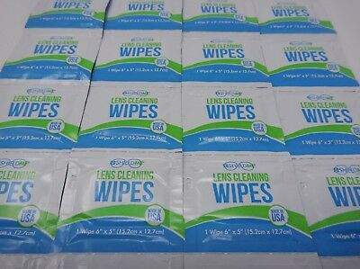 1000 ShieldMe Lens Cleaning Alcohol Wipes Glasses-Eyewear-Camera-Phone-Screen