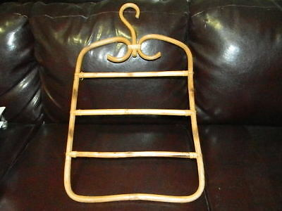 Mid-Century Bamboo? Pants Hanger - Measures Approx. 24In. X 14In. (Very Nice)
