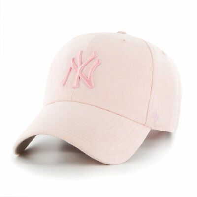 47 Brand Relaxed Fit Cap - ULTRABASIC New York Yankees rose