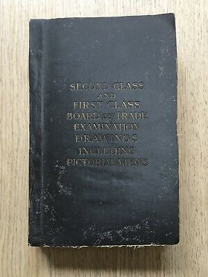 c.1900 SOTHERN'S MARINE ENGINEERING COLLEGE GLASGOW EXAMINATION DRAWINGS