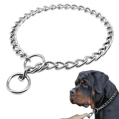 Dog Chain Stainless Steel Chain Durable for Medium Large Dogs Training